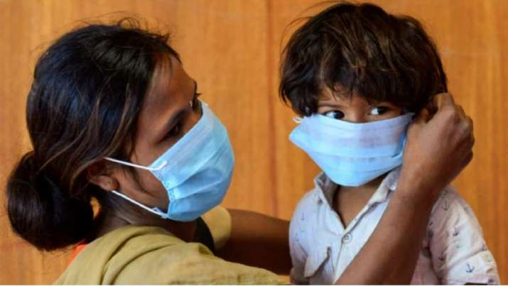 15000 masks to protect poor children in India & Nepal