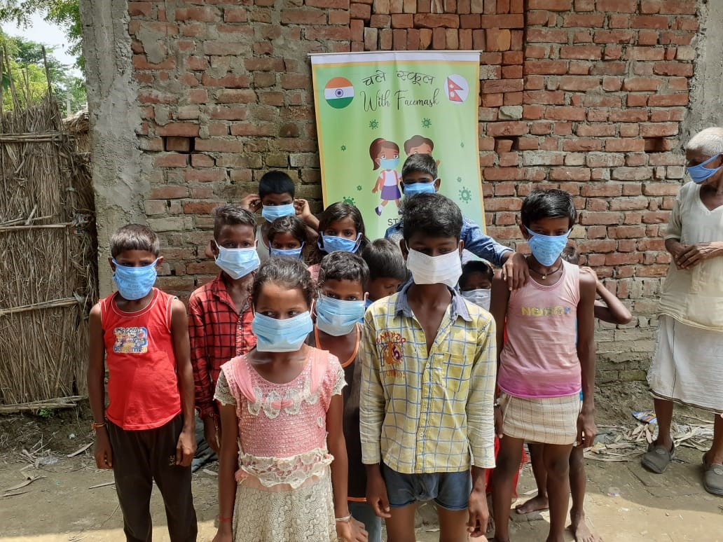 Be Educated Concludes a very Successful Facemask Drive